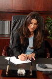 Female Executive In Office Royalty Free Stock Photo