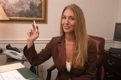 Female executive office Stock Photo