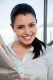 Female Executive Smiling Stock Photos