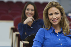Female Executives In Business Lecture Stock Images