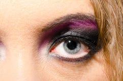 Female eye close-up Royalty Free Stock Photos