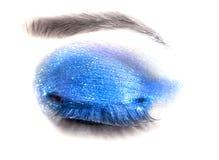 Female eye. Close-up. Make-up. Royalty Free Stock Image