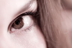 Female eye closeup Royalty Free Stock Photo