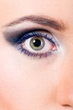 Female eye macro Stock Photos