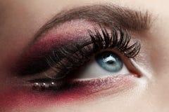 Female eye stock image