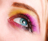 Female eye with make up Stock Photo