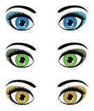 Female eyes Royalty Free Stock Photography