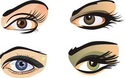 Female eyes Royalty Free Stock Photo