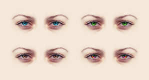 Female eyes Royalty Free Stock Photos