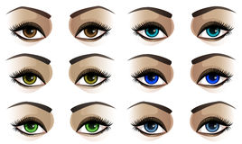 Female eyes Stock Photography