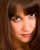 Female face Stock Photography