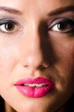 Female face Royalty Free Stock Photography