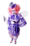 Female Fairy Clown Royalty Free Stock Photography