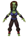 Female Fantasy Figure Stock Photos