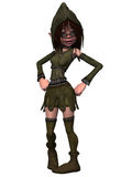 Female Fantasy Figure Stock Images