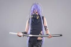 Female fantasy warrior Royalty Free Stock Photo