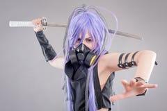 Female fantasy warrior Stock Images