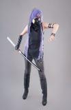 Female fantasy warrior Stock Photo