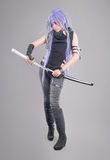 Female fantasy warrior Stock Image