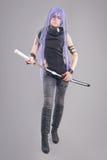 Female fantasy warrior Stock Photography