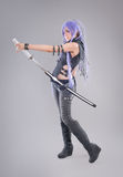Female fantasy warrior Royalty Free Stock Photos