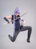 Female fantasy warrior Royalty Free Stock Photography