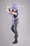 Female fantasy warrior Royalty Free Stock Image