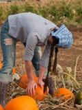 Female Farmer Stock Photography