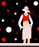 Female fashion Stock Image