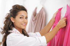 Female fashion designer Royalty Free Stock Image
