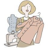 Female Fashion Designer Stock Photo