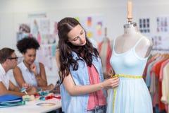 Female fashion designer Stock Photography