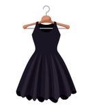 Female fashion dress isolated icon design Stock Photo
