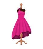 Female fashion dress isolated icon design Royalty Free Stock Photo