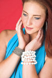 Female fashion model Royalty Free Stock Photos