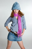 Female Fashion Model Royalty Free Stock Images
