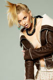 Female fashion portrait Royalty Free Stock Photography