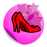 Female fashion stick Stock Images