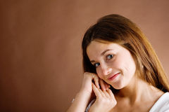 Female feelings Royalty Free Stock Photo