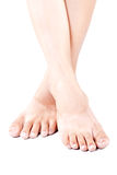 Female feet Royalty Free Stock Photos