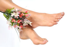Female feet Royalty Free Stock Images