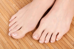 Female feet Stock Photos