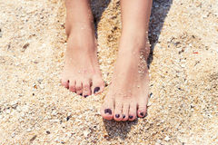 Female feet Royalty Free Stock Image