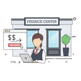 Female Finance Specialist Royalty Free Stock Photos