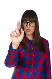 Female finger Royalty Free Stock Photography