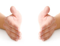 Female fingers Royalty Free Stock Photography
