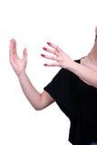 Female fingers Stock Image