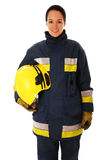 Female Firefighter Stock Photography