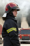 Female Firefighter Stock Images