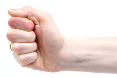 Female Fist Stock Photo
